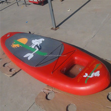 window stand up paddle surfboard/Seascape window sup board/inflatable airboard with sea scenery