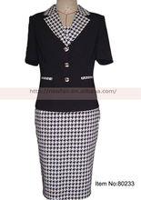 Verano nuevo estilo 3 pieza traje de las señoras adaptan diseño