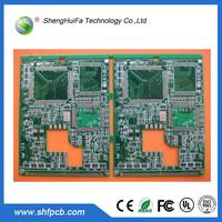 Thick Copper Foil Wire Printed Prototype PCB Board for Digital TV , Rigid Flex PCB Board For TV