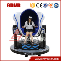 Amusement park equipment Virtual Reality 3D Glasses 9D Cinema Simulator With Bargaining Price For Wonderful 9D Movies