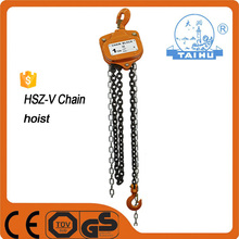 1TON 2TON 3TON Mechanical 2 Ton Chain Pulley Block With 5 Ton Chain Block