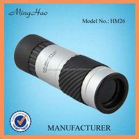 Minghao 10~30x21 zoom telescope sigle tube camera monocular watch blue film