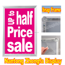A1 A2 A3 A4 Aluminum Alloy Snap Frame piccture frame extrusion profiles aluminum