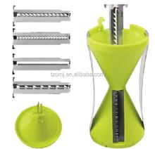 New style 4-Blade Vegetable Spiral Slicer/ Sprial Slicer,carrot spiralizer slicer ,vegetable spiral slicer