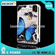 (Hot Sale)8000mah power bank 8000mah,Butterfly power bank charger