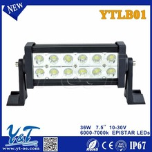 Y&T2015 newest double row brightness narrow small cheap light led light bar, easy to install, for OFFROAD SUV ATV TRUCK