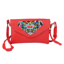 Bohemian Ethnic Tribe Hmong Embroidery handbags Bag Hobo Crossbody Bag Ladies Wallets and Purse