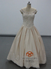 Champagne Wedding Dresses HMY-D484 Best Selling Fashionable A-line Simple Champagne Colored Vintage Lace Wedding Dresses