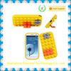 Soft 3D Building Blocks Silicon Case For Samsung Galaxy S3