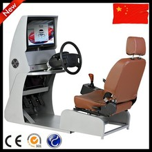 Auto training car simulator for driving school equipment
