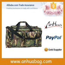 Function camo polyester military travel bag