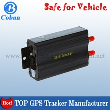 Vehicle GPS Tracker TK103 GPS Car Tracker with Memory Card Slot ,Low Power Alert ,Cut off Oil and Power online platform