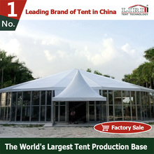 Special Shape Roof Octagonal Party Tents with Wedding Decoration for Special Events