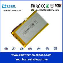 Factory price 3.7V 1200mAh 365590 model polymer battery