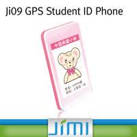 JIMI Anti Lost Alarm Big Keyboard Kids Mobile Phone GPS Tracker With SOS Alarm Platform Ji09