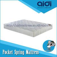 Best furniture high density foam pocket coil spring mattress