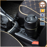 Car Adaptor Electric Heated Thermos Stainless Steel Mug,New Thermal Travel Cup USB &Car Adaptor Electric Thermos Bottle