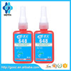 For cylindrical parts Fast curing Anaerobic loctit retaining Compound 648 adhesive