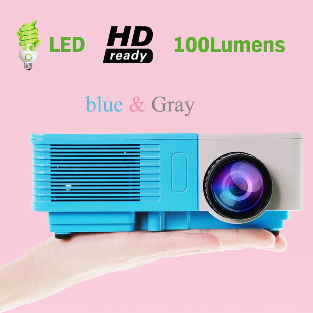 Cheap pocket projector mini led projector 100 lumens 480 for Cheap mini portable projector