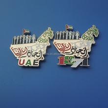 National Country Flag Lapel Pin Button Badge Applique Emblem 3 Cm Diameter (United Arab Emirates / UAE)