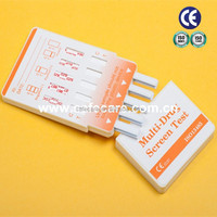 7 Panel Home Drug Test Kit - tests for Amphetamines, Buprenorphine, Benzodiazephines, Cocaine, Methadone, Ketamine, MET