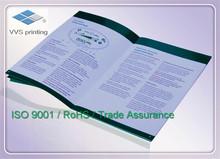 Customer Manual For Product Description, Instruction Book, Catalog Printing By Heidelberg Press