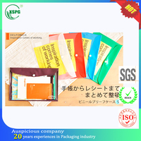 All kinds recyclable plastic document bag