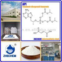API Tenofovir disoproxil fumarate 98% 202138-50-9