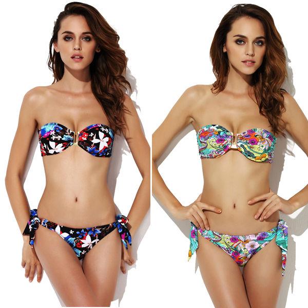 por encargo de acolchado baratos doble push up bikinis