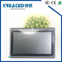 7 inch android 4.0 Allwinner A13 tablet pc with capacitive screen