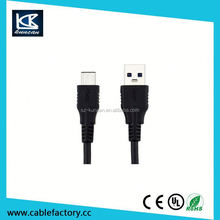 usb type c to b male 3.0 10gbps fast data sync charging cable 1m black