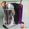 hair extension packaging bag with plastic PVC