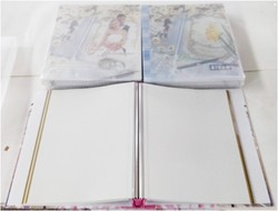 Plastic Sheets 4x6 5x7 8x10 Photo Album Holds 200 Photos self adhesive wedding album