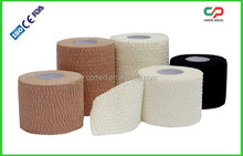 Easy Tear Tape/ Cotton Adhesive Lightweight Elastic Tape with CE & FDA
