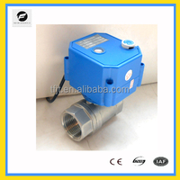 CWX-25S motor operated valve for oil and gas with position indicator and manual override function for replacing solenoids valve