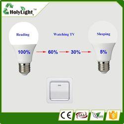 Switch Dimming Led Bulb Light, Smart home lighting Bulbs, Auto dimming Led Light Bulb Switch Device.