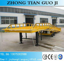 ISO CE camión rampa de carga CONTENEDOR DE CARGA RAMP rampa contenedor móvil