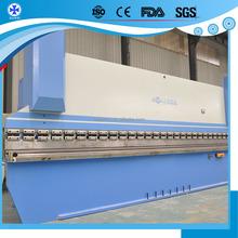 Usado placa máquina de dobra 4-roll barra chata máquina de dobra