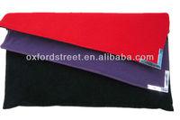 Newest Design Women Folder Clutch Fashion PU Handbag