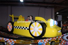 2015 Hot sale newly reformed indoor games mechanical flying car for amusement park