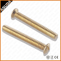 DIN 964 Slotted Raised Countersunk Oval Head Machine Screw