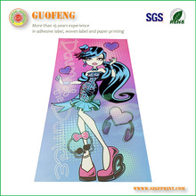 Best price OEM Permanent sticker with Wine Sticker Label