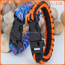 2015 New HOT SALE cheap paracord bracelet 450 nylon paracord