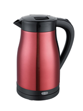 BAIDU hot sale home appliance product 304 stainless steel electric kettle passed CE, CB and 3C Certification