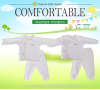 lovely design organic cotton baby christening dress GB008