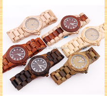 Luxury Wooden Wrist Lady Watch/Cherry Wood Watch For Small Wrist/New Watch Design For Vogue Ladies