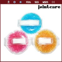 Round Reusable Ice pack, gel bead cold pack, gel beads ice pack