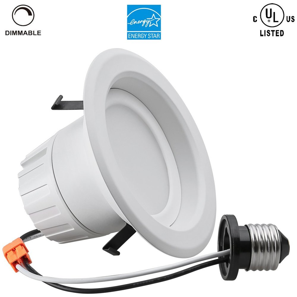 Retrofit Can Led Recessed Light E26 Dimmable Bulb Downlight Fixture Kit 4 Inch 6 Inch Buy Can