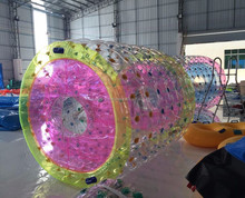 High quality TPU/PVC inflatable water roller, water walking roller cheap on sale