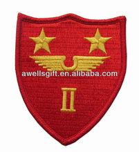 Original WW II US Marine Corps 2nd Air Wing Patch Cut Edges No Glow
